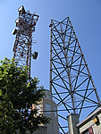 Tower dismantling - August 9, 2006
